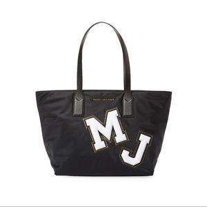 Marc Jacobs Nylon Black Patch Tote Bag